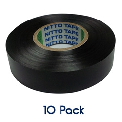 Insulation Tape 20mm x 19mm BLACK 10 PK