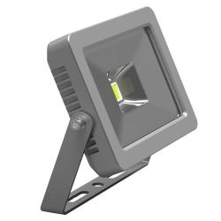 Compact LED Flood Light 10W 3000K 90° IP66 - Warm White